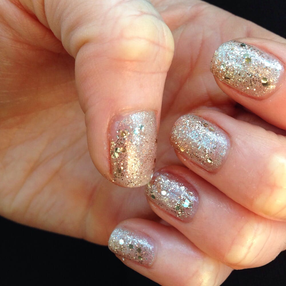 New Year\'s Eve gel nails by Nick - Yelp