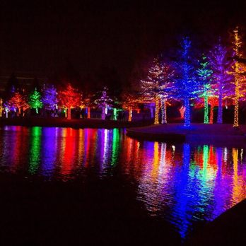 Photo Of Vitruvian Lights   Magical Night Of Lights   Addison, TX, United  States Images