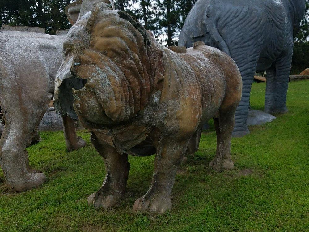 FAST Fiberglass Statue Graveyard: 14177 County Hwy Q, Sparta, WI