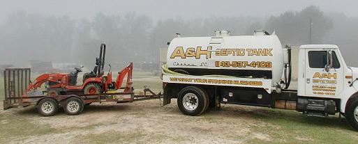 A & H Septic Tank: Cheraw, SC