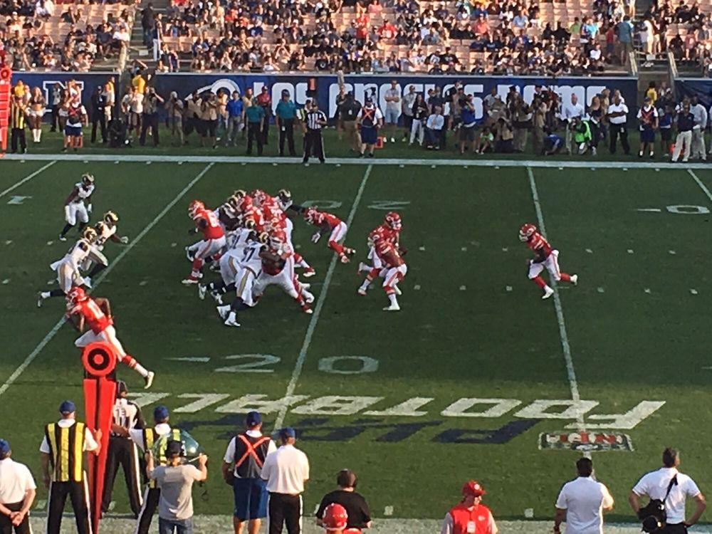 The Los Angeles Rams: 29899 Agoura Rd, Agoura Hills, CA