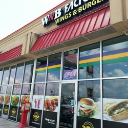 Photo Of Wnb Factory Wings And Burgers Conyers Ga United States