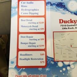 Ducky S Car Wash Little Rock
