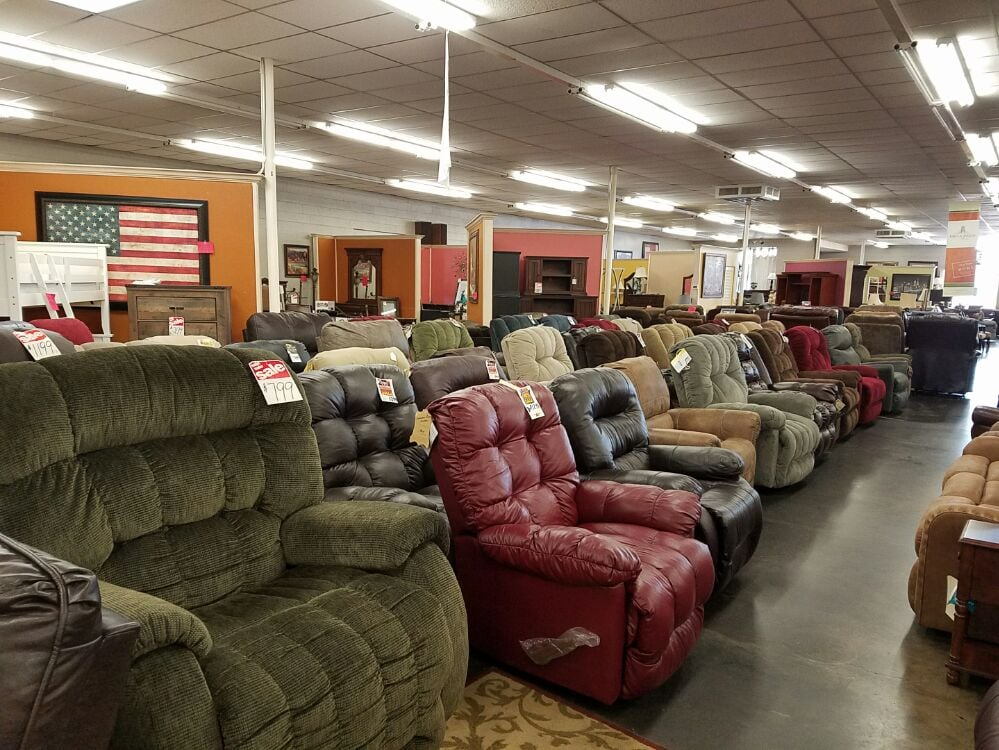 Eddins furniture 14 photos furniture shops 1415 19th for Furniture lubbock