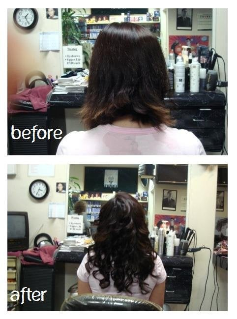 before after photos from back in the day when we first On abc beauty salon