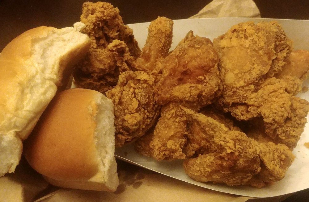 Food from Ball's Fried Chick-N