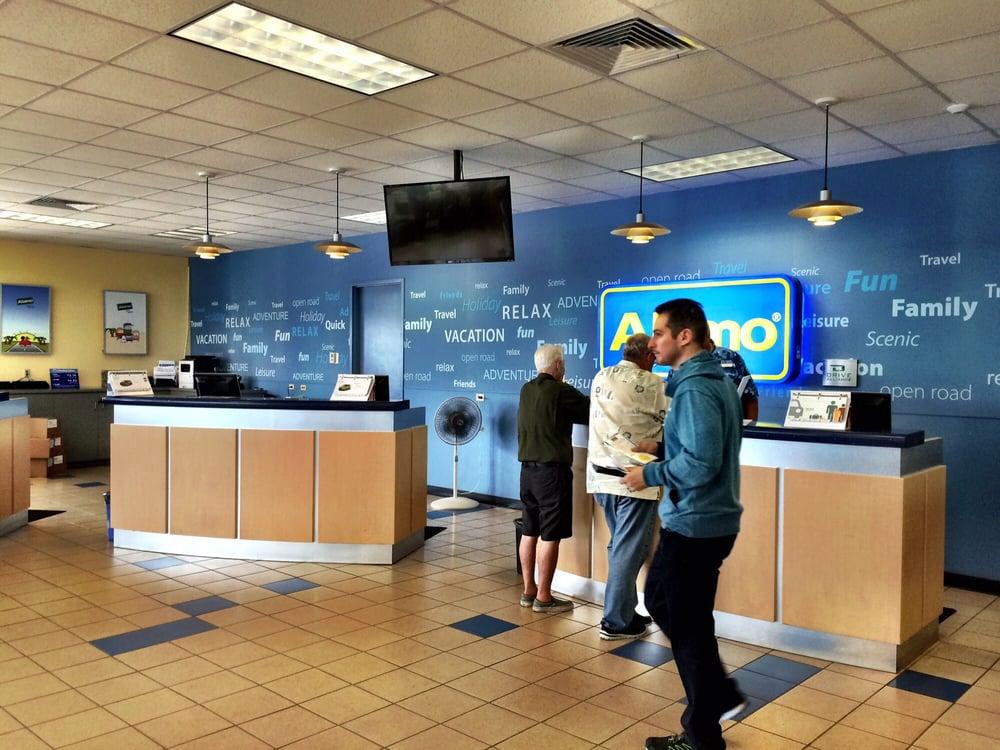 Alamo Car Rental Maui: Counters