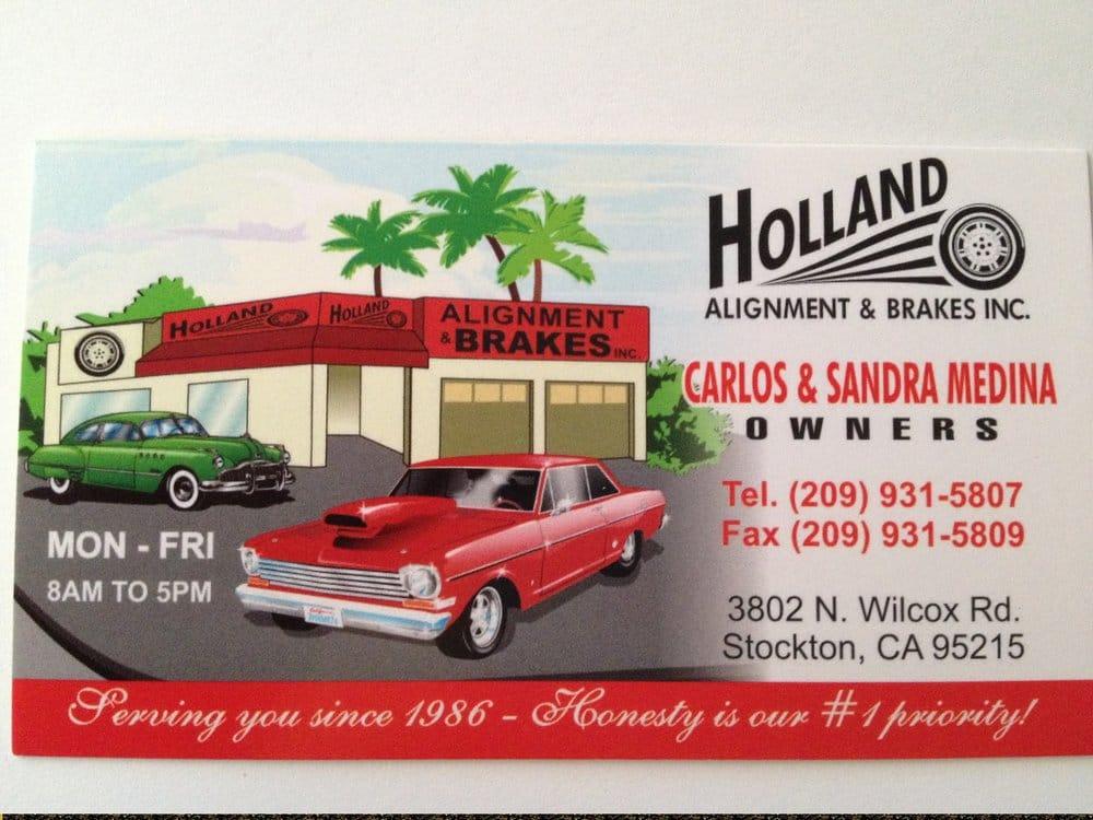 Holland Alignment & Brake - Auto Repair - 3802 N Wilcox Rd