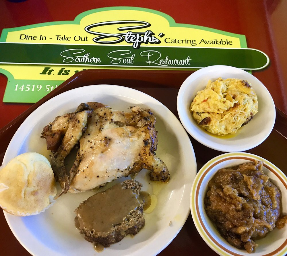 Steph's Southern Soul Restaurant: 14519 5th St, Dade City, FL