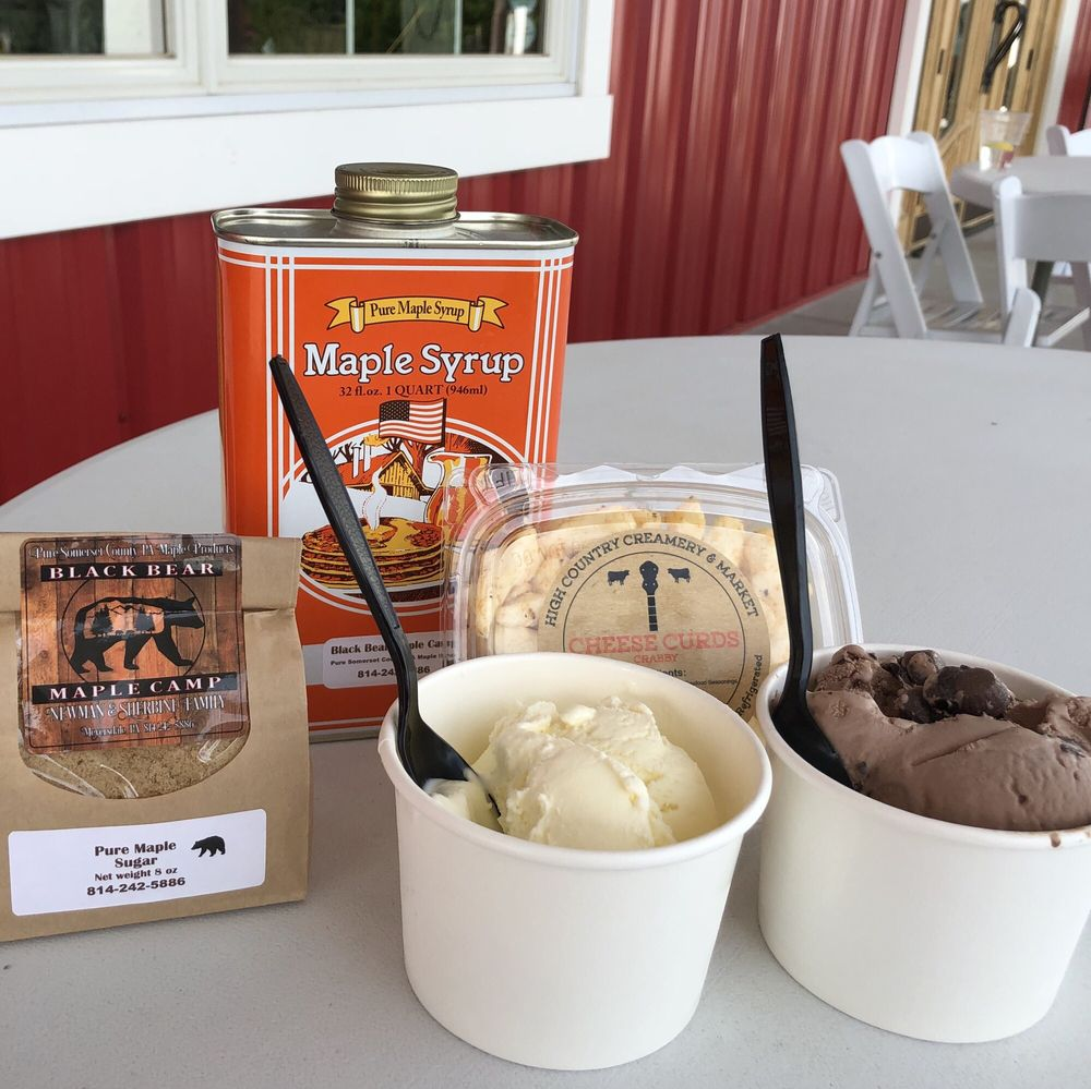 High Country Creamery & Market: 97 Locker Ln, Grantsville, MD