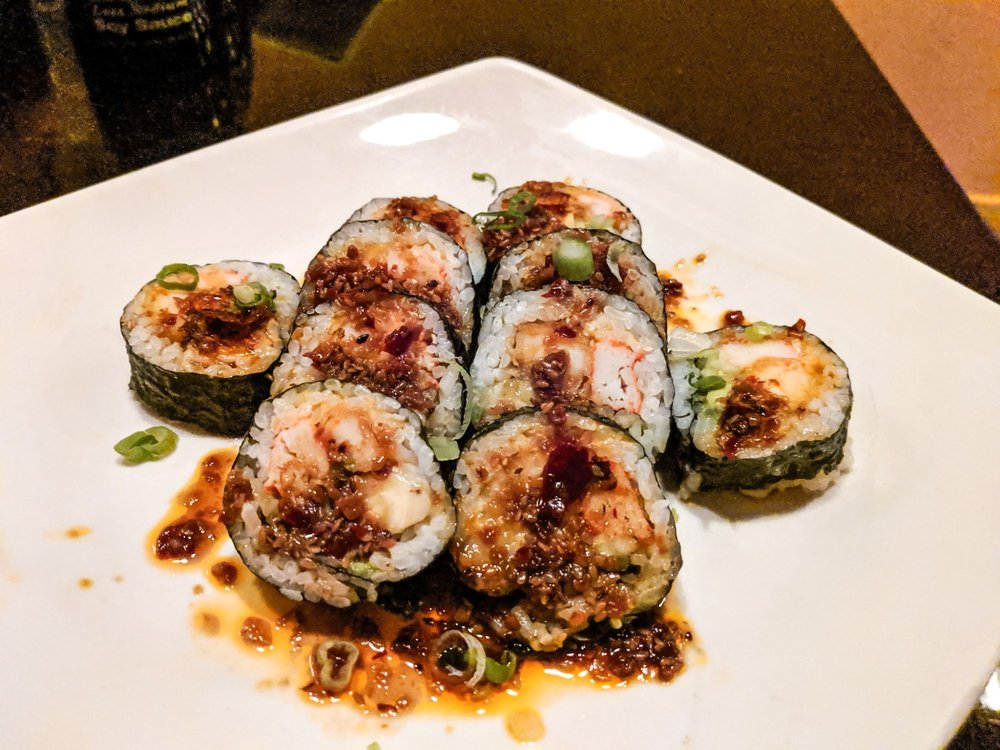 Food from Umi Grill and Sushi Bar