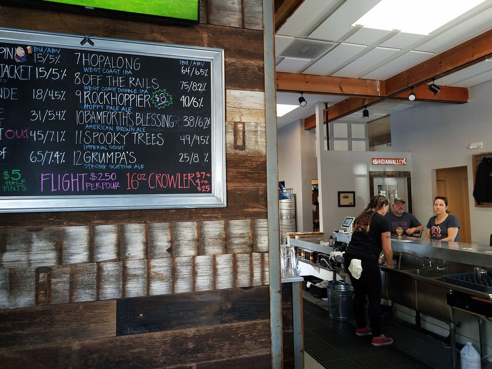 Indian Valley Brewery: 1016 Railroad Ave, Novato, CA