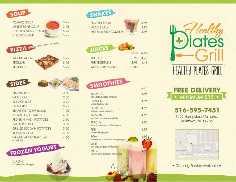 Healthy Plates Grill - CLOSED - Comfort Food - 3499