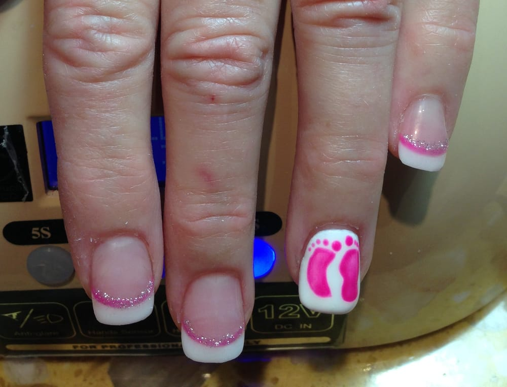 Photo Of Oq Nail Salon Portland Or United States Lily Painted Pink