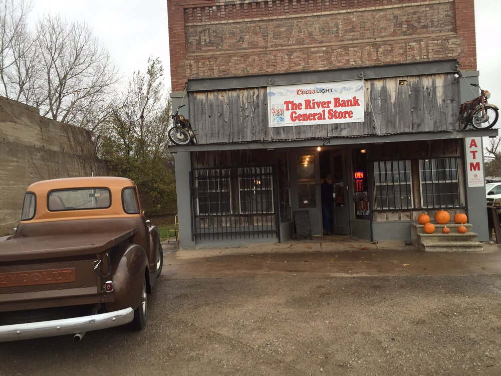 The River Bank General Store: 214 East Ripley St, Byars, OK