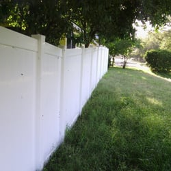 Photo Of Backyard Fence   Orlando, FL, United States. Here They Adjusted For