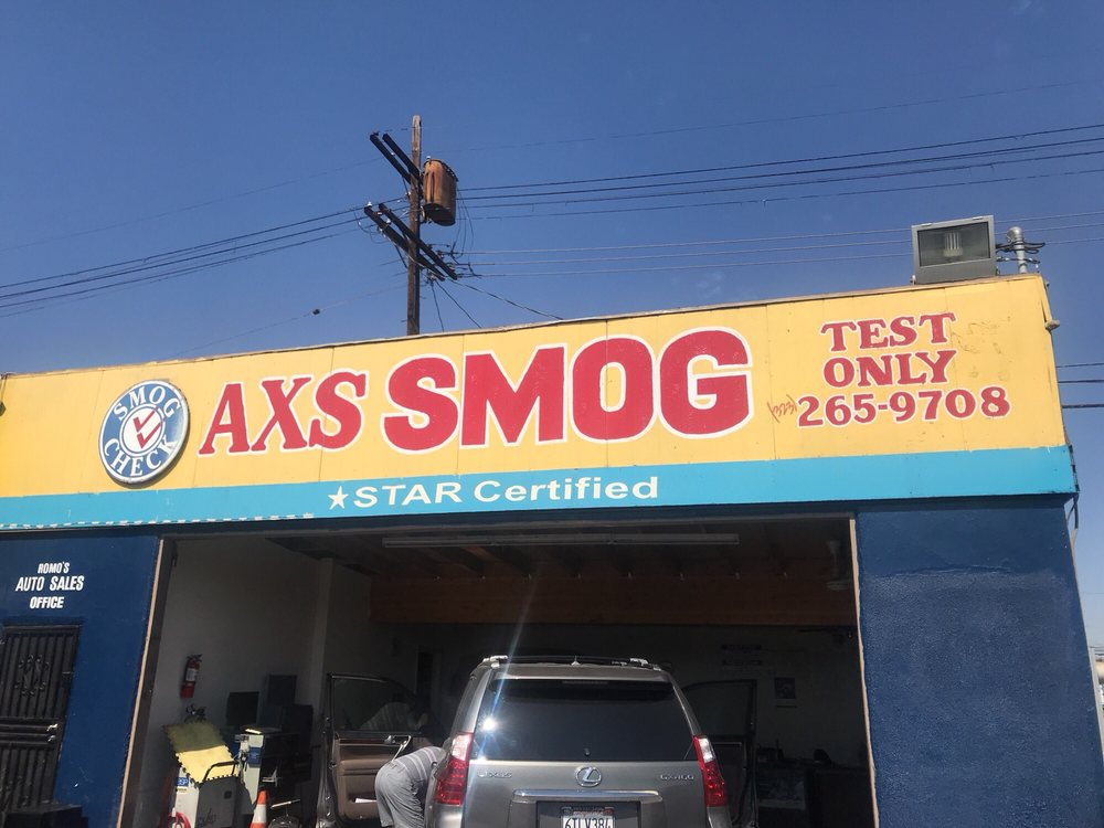 Access Smog Test Only