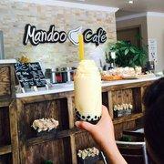 View Of The Front Photo Of Mandoo Cafe   Tenafly, NJ, United States. Mango  Bubble Tea ...