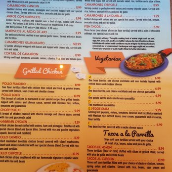 Photo Of Cancun Grill And Cantina Urbandale Ia United States Menu