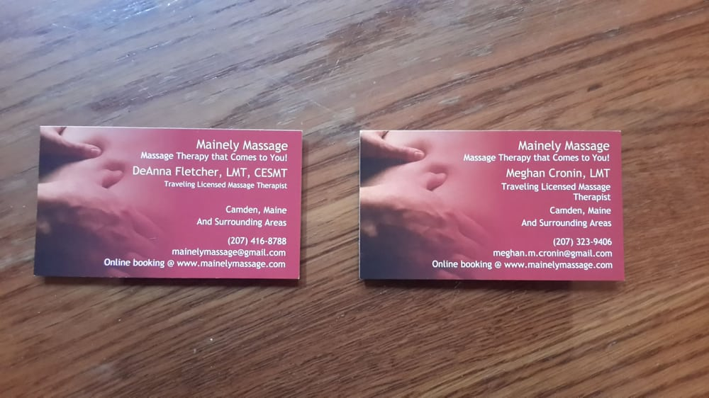 Mainely Massage - Massage Therapy - 342 Ridge Rd, Plymouth, ME ...