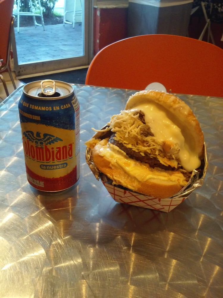 gordo burger mix and colombiana yelp