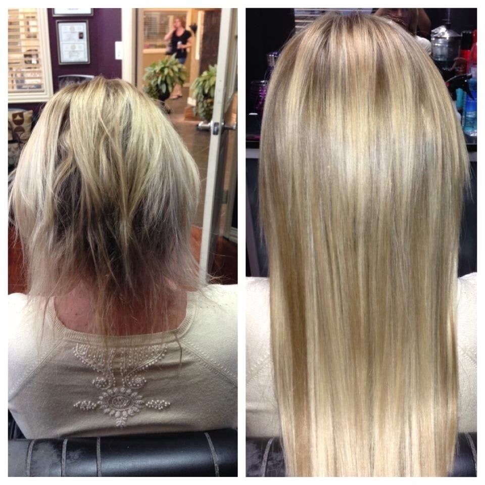 Beforeafter Klix Hair Extensions Yelp