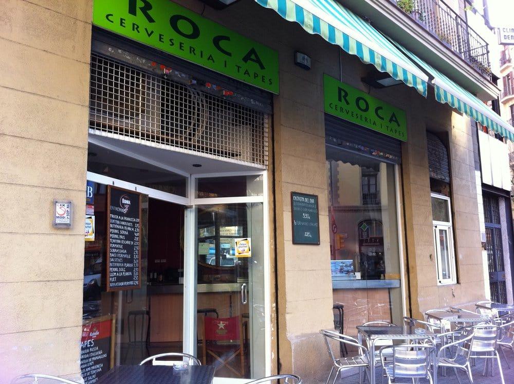 Roca bar carrer de proven a 63 l 39 eixample for Roca bar barcelona