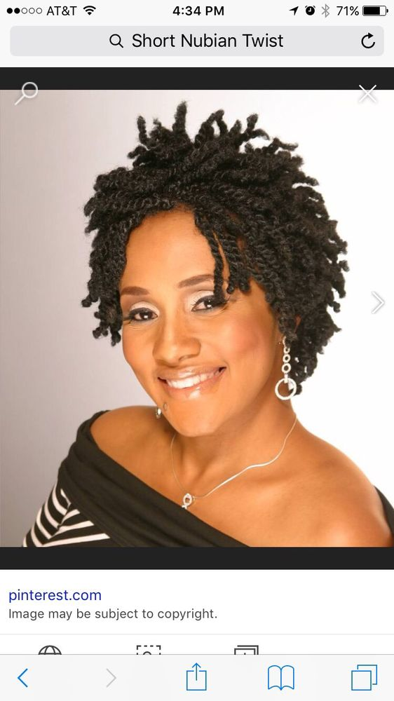 50 Inspirational Nubian Twist Hairstyle