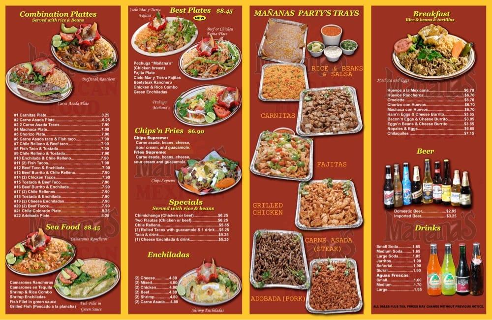 Una exquisita variedad de platillos muy mexicanos de gran for Ahora mexican cuisine