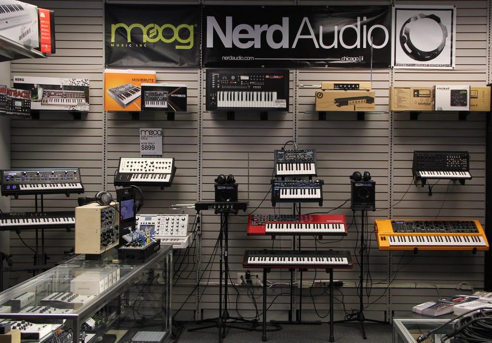 Nerd Audio: 1613 W Belmont Ave, Chicago, IL