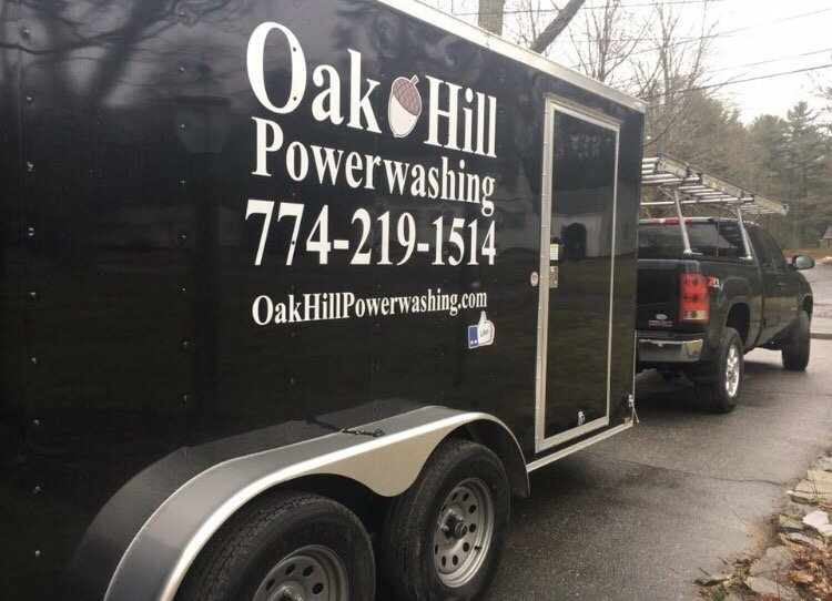 Oak Hill Powerwashing: 145 Oak Hill Ave, Seekonk, MA