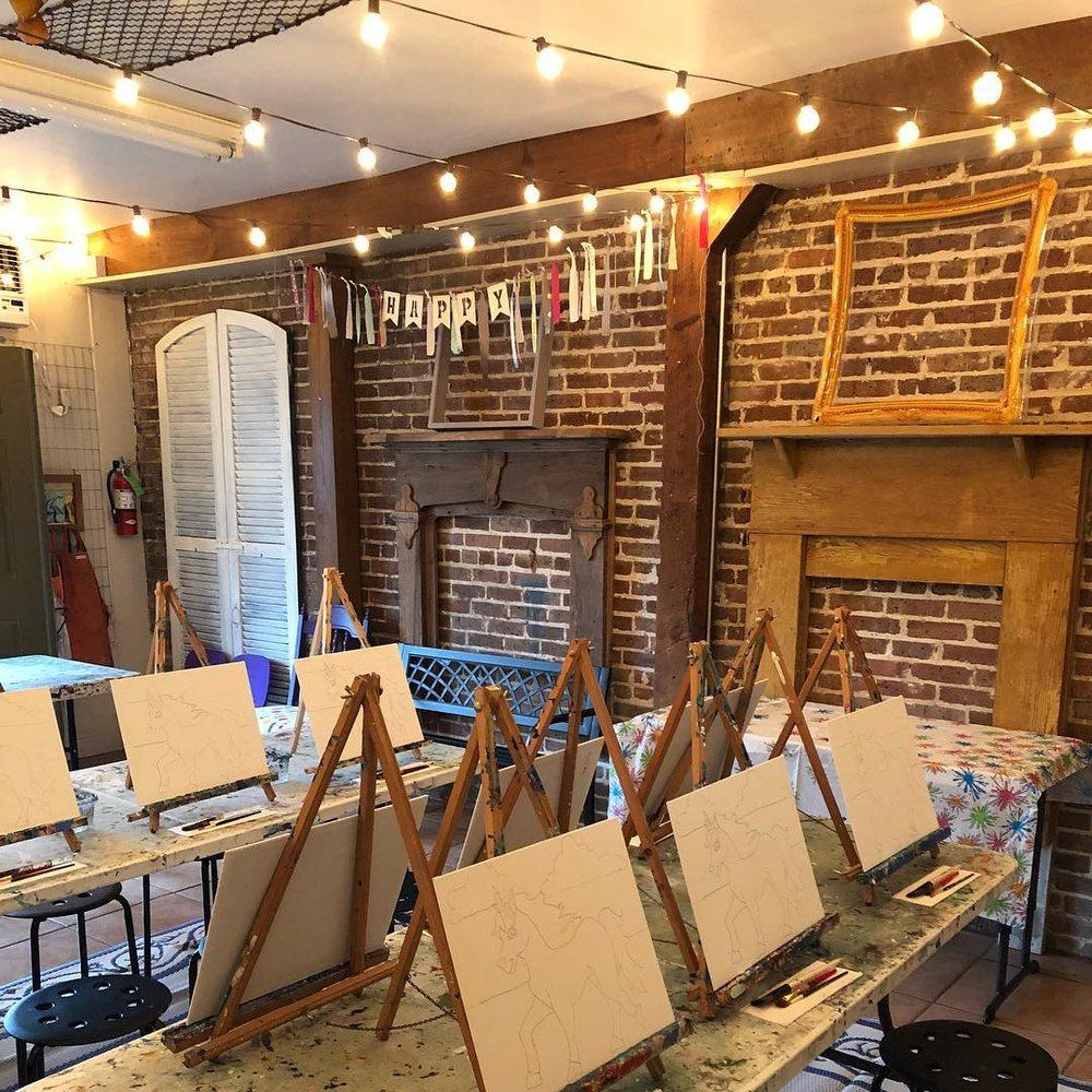 Brushfire Art Studio: 125 N Range Ave, Denham Springs, LA