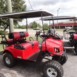 Happy s custom golf carts 36 photos golf 434 old for Golf mill motor sales