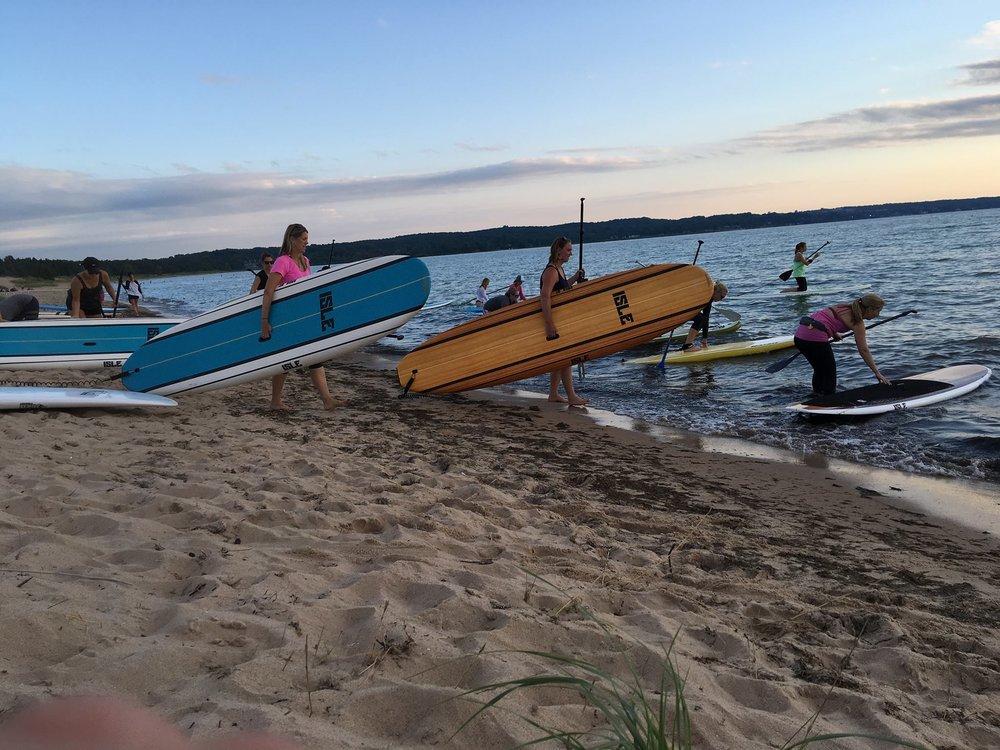 Paddle Boards By The Bay: Petoskey, MI