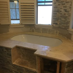 Superieur Photo Of American Countertops   San Antonio, TX, United States. Marble  Undermount Tub