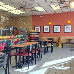 Restaurants Fast Food Sandwiches Photo Of Subway Kansas City Ks United States Counter And Dining Area