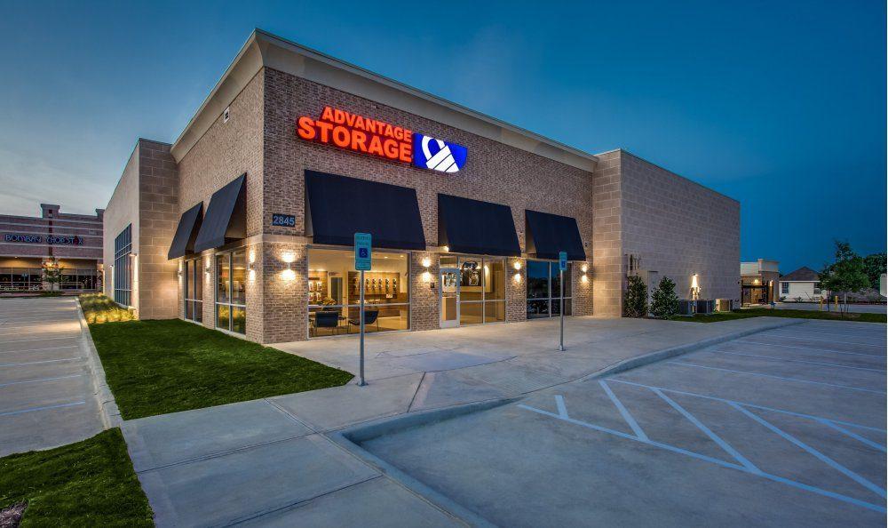 Advantage Storage - McDermott Square: 2845 McDermott Rd, Plano, TX
