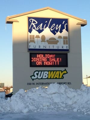 Baileyu0027s Furniture 350 W Intl Airport Rd Anchorage, AK Furniture Stores    MapQuest