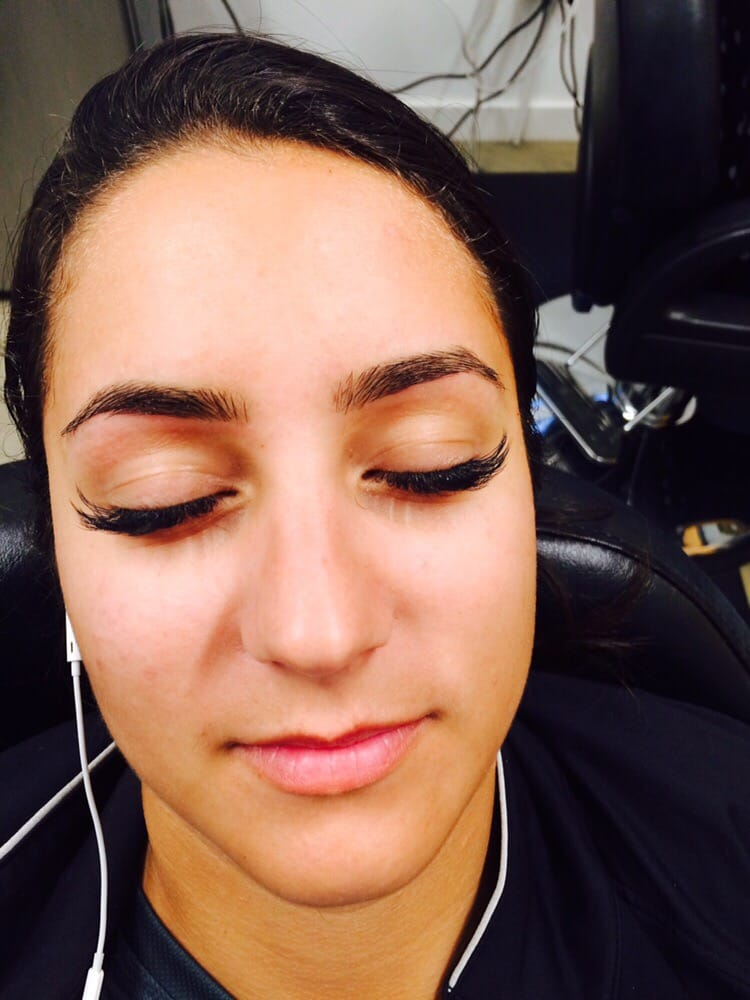 Happy After Threading Perfect Eyebrows Nicely Shaped And Clean
