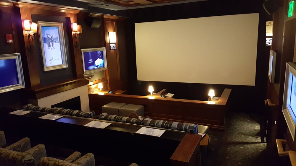 The movie parlor room... Cozy! - Yelp