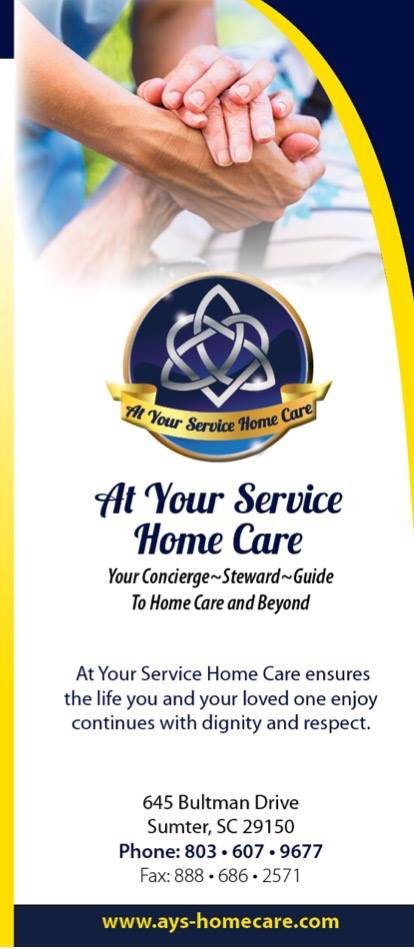 At Your Service Home Care: 645 Bultman Dr, Sumter, SC
