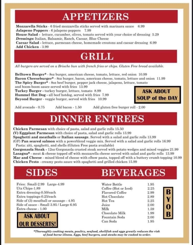 Sweet Jean's Cafe: 13 N Main St, East Hampton, CT