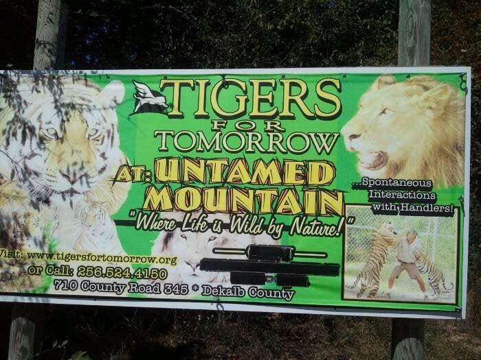 Tigers For Tomorrow: 708 County Rd 345, Attalla, AL