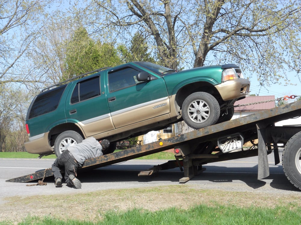 Towing business in Plattsburgh, NY
