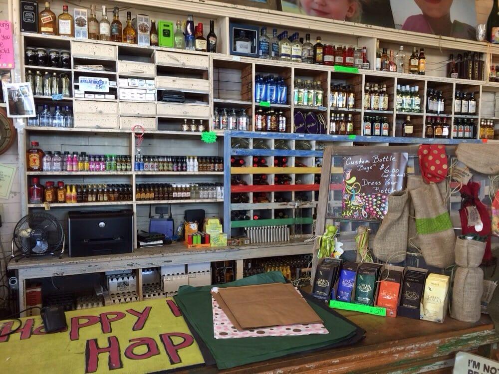 Honey Hole Liquors: 252 Water St, Apalachicola, FL