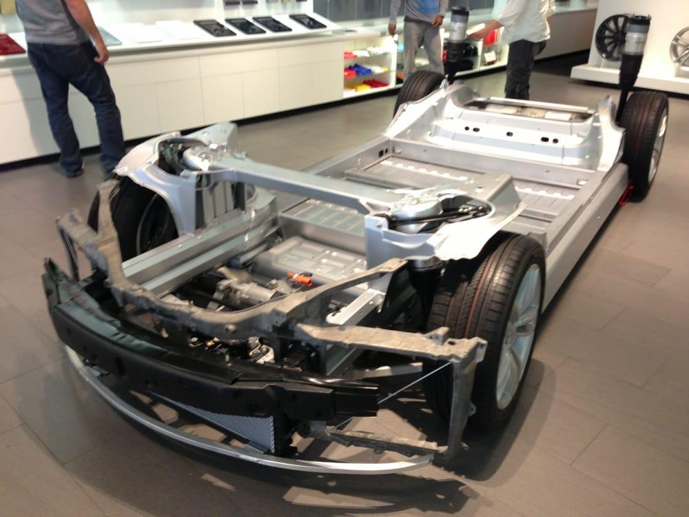 Photo Of Tesla Motors Santa Monica Ca United States Model S Frame