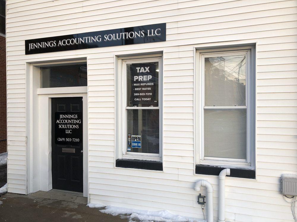 Jennings Accounting Solutions: 107 S Nottawa St, Sturgis, MI
