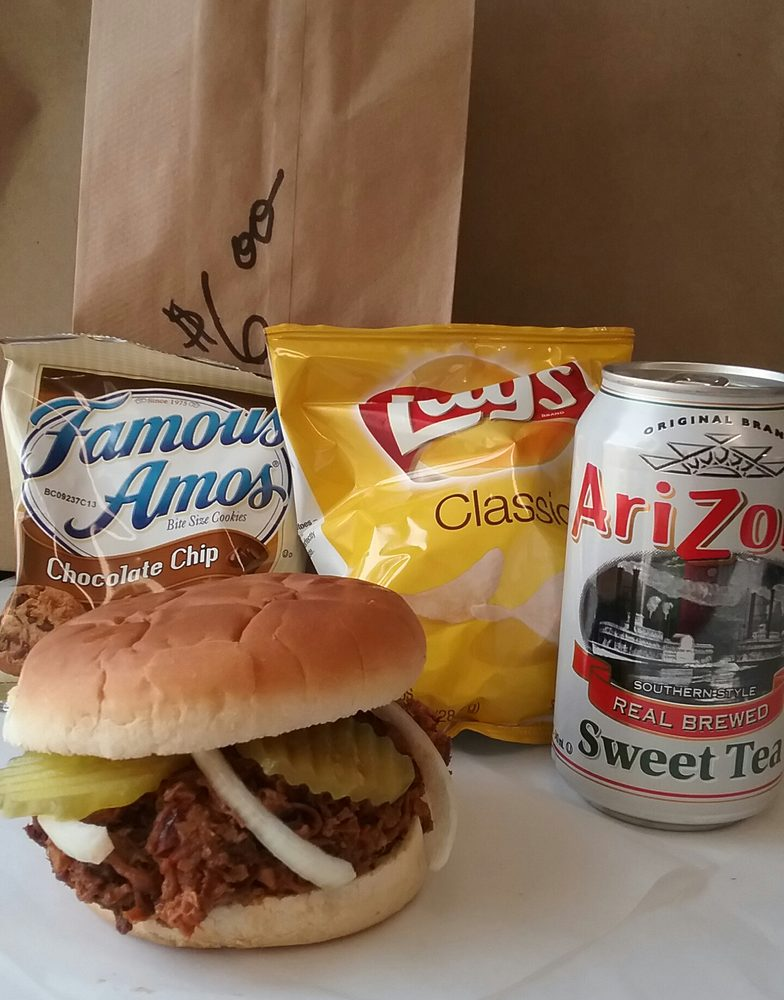 Photo Of Thumper S Bbq Lockhart Tx United States 6 Brown Bag Special