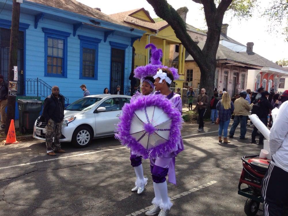 Mardi Gras Indian Super Sunday Parade
