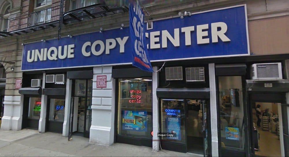 unique copy center of new york, manhattan, copy center, print center ...